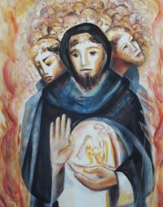 Santo Domingo. pintura de Briggitte Loire
